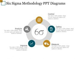 Six Sigma Methodology Ppt Diagrams