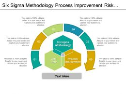 Six Sigma Methodology Process Improvement Risk Management Templates Cpb