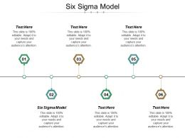 Six Sigma Model Ppt Powerpoint Presentation File Layout Ideas Cpb