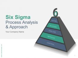 Six Sigma Process Analysis And Approach PowerPoint Presentation With Slides