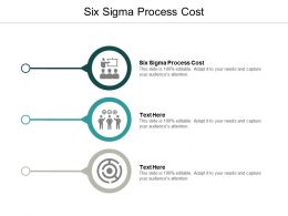 Six Sigma Process Cost Ppt Powerpoint Presentation Pictures Templates Cpb