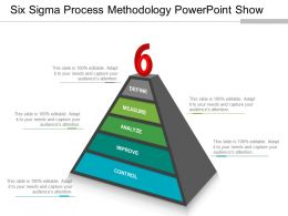 Six Sigma Process Methodology Powerpoint Show