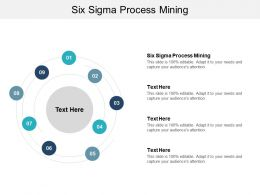 Six Sigma Process Mining Ppt Powerpoint Presentation Infographics Outfit Cpb