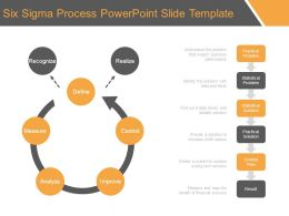 Six Sigma Process Powerpoint Slide Template
