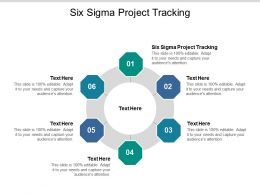 Six Sigma Project Tracking Ppt Powerpoint Presentation Show Guide Cpb