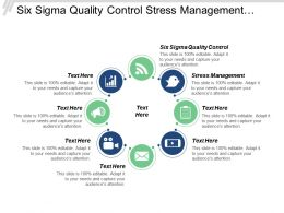 Six Sigma Quality Control Stress Management Lead Generation Cpb