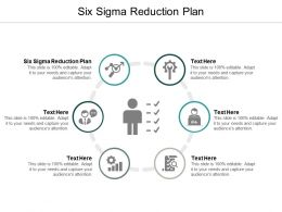 Six Sigma Reduction Plan Ppt Powerpoint Presentation File Graphic Tips Cpb