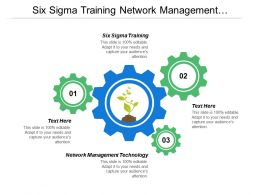 Six Sigma Training Network Management Technology Business Ideas Cpb