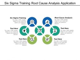 Six Sigma Training Root Cause Analysis Application Quality Management Cpb