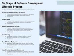 Six Stage Of Software Development Lifecycle Process