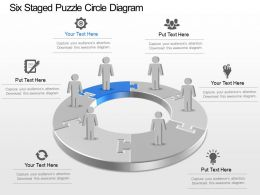 46035819 Style Puzzles Circular 6 Piece Powerpoint Presentation Diagram Infographic Slide