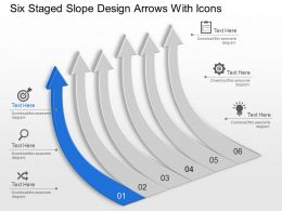 six_staged_slope_design_arrows_with_icons_powerpoint_template_slide_Slide01