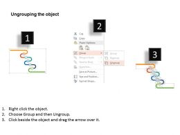 98063496 Style Circular Zig-Zag 6 Piece Powerpoint Presentation Diagram Infographic Slide