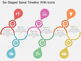 six_staged_spiral_timeline_with_icons_flat_powerpoint_design_Slide01