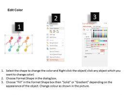 58841273 Style Circular Zig-Zag 6 Piece Powerpoint Presentation Diagram Infographic Slide