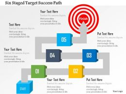 six_staged_target_success_path_powerpoint_template_Slide01