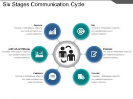 six_stages_communication_cycle_ppt_background_Slide01