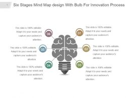 six_stages_mind_map_design_with_bulb_for_innovation_process_powerpoint_design_Slide01