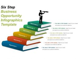 Six Step Business Opportunity Infographics Template Ppt Example 2018