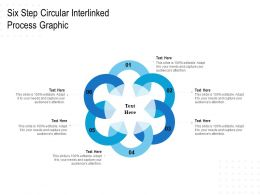 Six Step Circular Interlinked Process Graphic