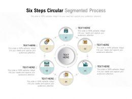Six Steps Circular Segmented Process