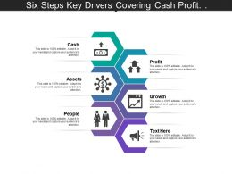 Six Steps Key Drivers Covering Cash Profit Assets Growth And People