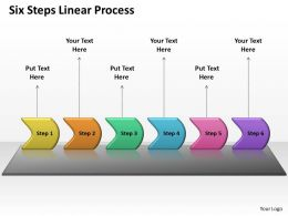 Six Steps Linear Process 76