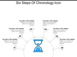 Six Steps Of Chronology Icon