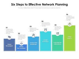 Six Steps To Effective Network Planning