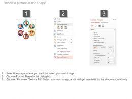 51565498 Style Essentials 1 Our Team 6 Piece Powerpoint Presentation Diagram Infographic Slide