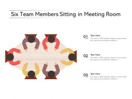 Six Team Members Sitting In Meeting Room