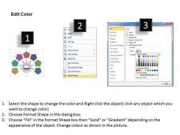 38217929 Style Circular Semi 7 Piece Powerpoint Presentation Diagram Infographic Slide