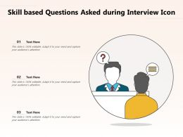 Skill Based Questions Asked During Interview Icon