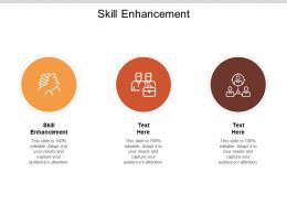 Skill Enhancement Ppt Powerpoint Presentation Model Elements Cpb