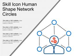Skill Icon Human Shape Network Circles