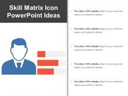skill_matrix_icon_powerpoint_ideas_Slide01