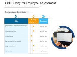 Skill Survey For Employee Assessment
