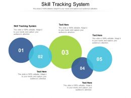 Skill Tracking System Ppt Powerpoint Presentation Infographic Template Graphic Images Cpb