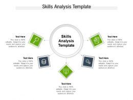 Skills Analysis Template Ppt Powerpoint Presentation Infographic Template Slideshow Cpb