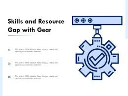Skills And Resource Gap With Gear