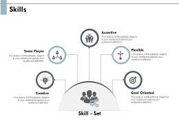 Skills Assertive Creative Ppt Powerpoint Presentation Slides Clipart