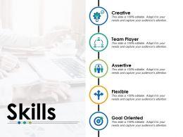 Skills Assertive Ppt Powerpoint Presentation Gallery Layouts