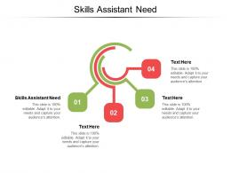 Skills Assistant Need Ppt Powerpoint Presentation Summary Portrait Cpb