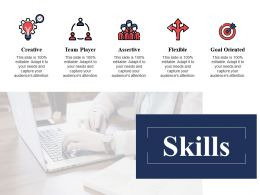 Skills Creative Ppt Powerpoint Presentation File Infographic Template