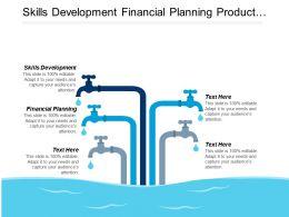 Skills Development Financial Planning Product Management Market Segmentation Cpb