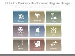 Skills For Business Development Diagram Design