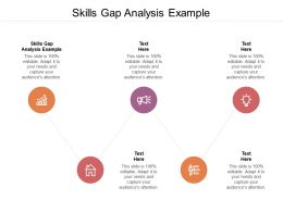 Skills Gap Analysis Example Ppt Powerpoint Presentation Gallery Maker Cpb