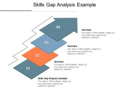 Skills Gap Analysis Example Ppt Powerpoint Presentation Portfolio Cpb