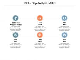Skills Gap Analysis Matrix Ppt Powerpoint Presentation Styles Skills Cpb