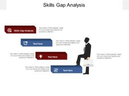Skills Gap Analysis Ppt Powerpoint Infographic Template Backgrounds Cpb